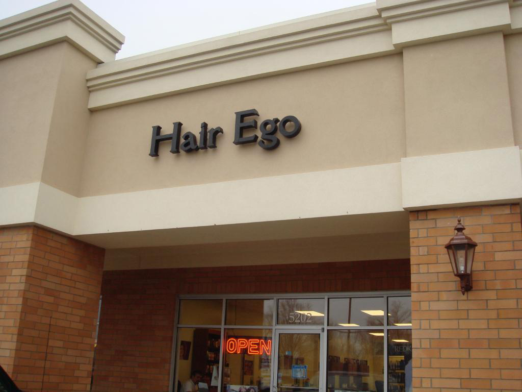 Hair Ego Outdoor Sign